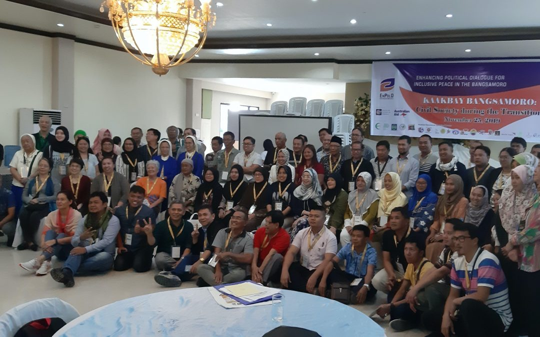 Civil society vows to intensify solidarity efforts  for peace in Mindanao; tackles challenges on GRP-NDFP talks