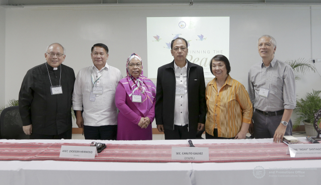 WINNING THE PEACE: Civilian multi-stakeholders hold dialogue with new Presidential Peace Adviser; express woes on rising armed hostilities, and demand a transitional justice implementation framework
