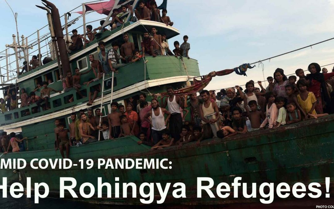 Urgent appeal to all states to help Rohingya refugees amid COVID-19 pandemic