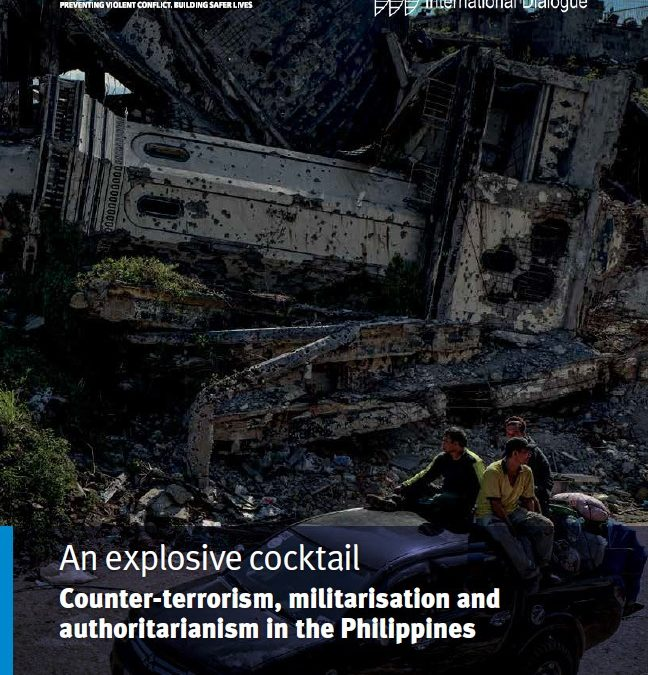 An explosive cocktail – Counter-terrorism, militarisation and authoritarianism in the Philippines